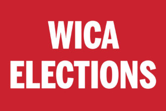 WICA ELECTIONS